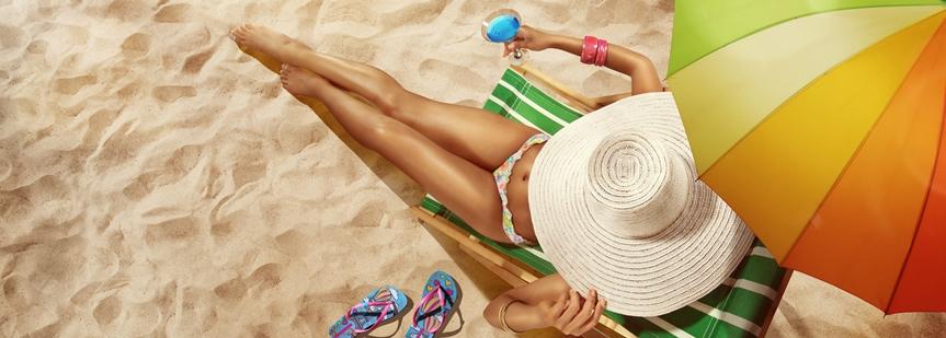 Уход за телом перед отпуском
