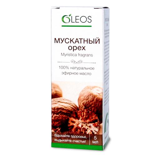 Эфирное масло мускатного ореха Олеос