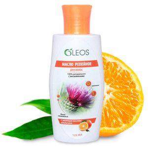 Репейное масло с маслом апельсина Олеос