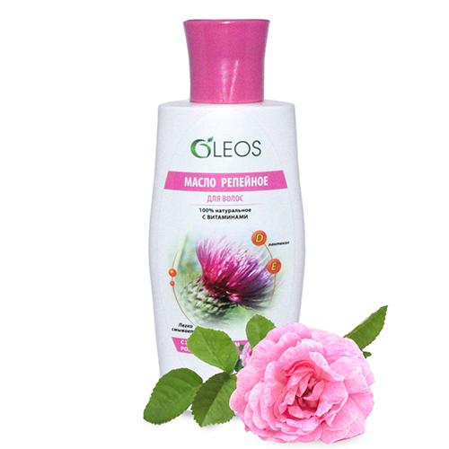 Репейное масло с маслом розы Олеос