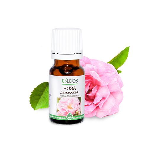 Эфирное масло розы дамасской Олеос